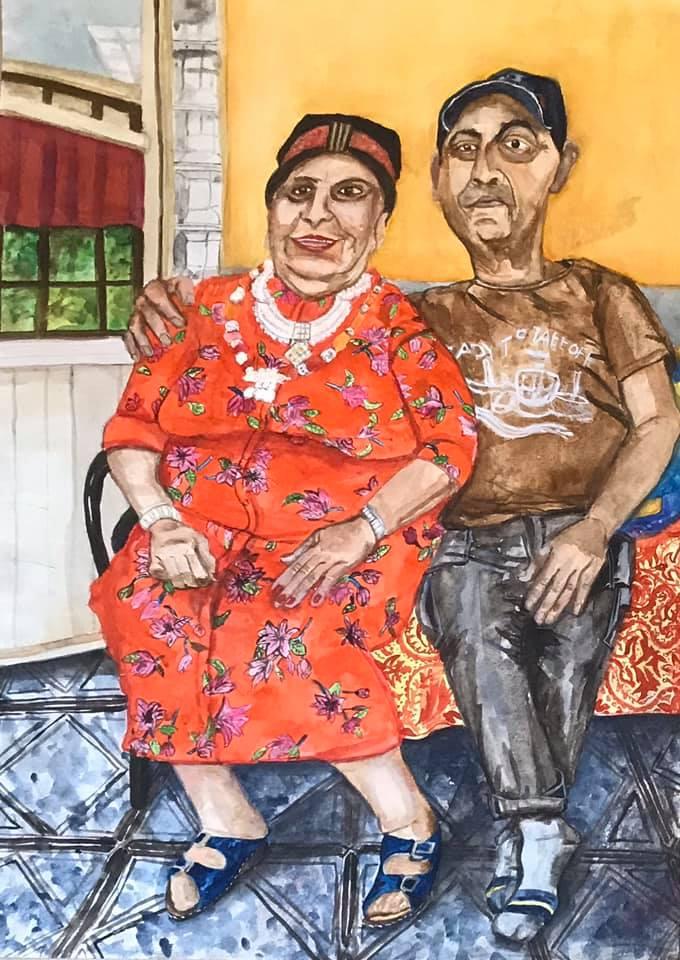 דפנה מרקמן, שני דורות בשוק תלפיות, 2019